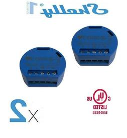 Shelly 1 - 2 sets - Channel Smart Relay Switch Open Source W