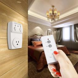 1 Pack Wireless Remote Control AC Electrical Power Outlet Pl