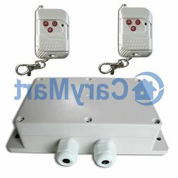 100M 2 Channel 30A High Power Relay Output AC 220V Wireless