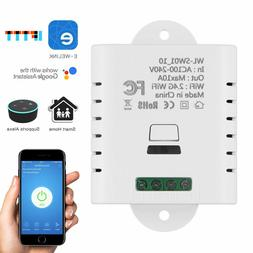 10A/16A WIFI Smart Light Timer Switch APP Control Home Autom