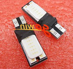 10PCS 6W Bright T10 LED Auto Car Interior COB Width Wedge Bu