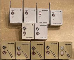 11 Piece Lot X10 POWERHOUSE + Radio Shack Home Automation Mo