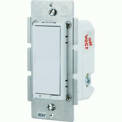 GE 12724 ZW3005 Z-Wave LED CFL Rocker Dimmer White Lt.Almond