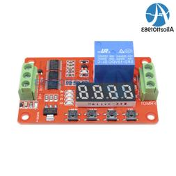 12V Automation Delay Multifunction Self-lock Relay Cycle Tim