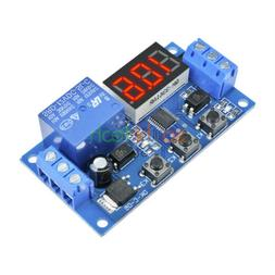 12V LED Home Automation Delay Timer Control Switch Relay Mod