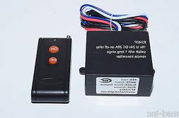 MSD-INC 18V - 24V DC 30A relay switch with long range RF rem