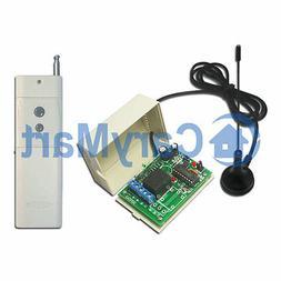 1CH 6V 9V 12V 24V 2000M RF Long Range Remote Control Kit Tra