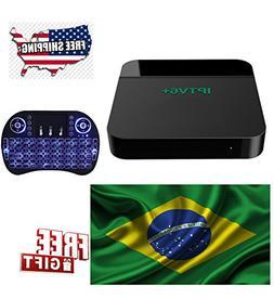 2018 newest IPTV brazil box, based on HTV6, IPTV Canais Bras