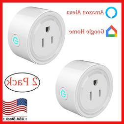 2xWifi Smart Plug Socket Outlet Adapter Switch Wifi For Andr