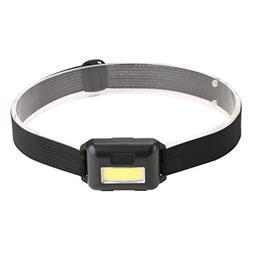 Liping 3 Mode Headlamp AAA Headlight Adjustable Camping Torc