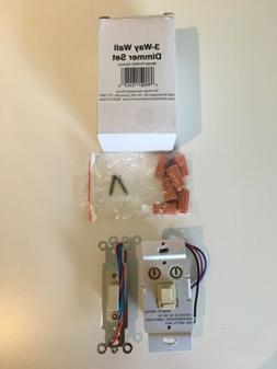 The Home Automation Store 3 Way Wall Dimmer Set