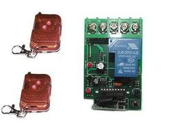 30A high power 1CH RF Radio remote controller switch for hom
