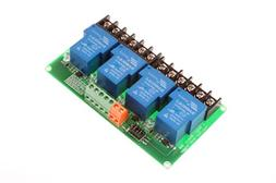 NOYITO 30A 4-Channel Relay Module High Low Level Trigger Wit