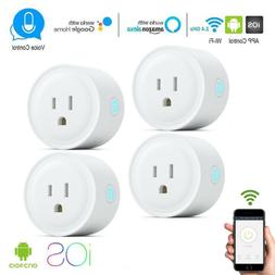 4 x Wifi Smart Plug Remote Control Socket Outlet Switch  Goo