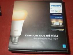 Philips 471986 Hue White Ambiance Bulb Starter Kit - 4 Pack