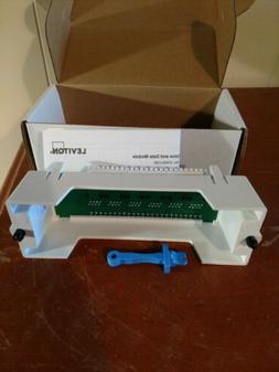 Leviton 47605-C5B Category 5 Voice and Data Module 6-Port, B