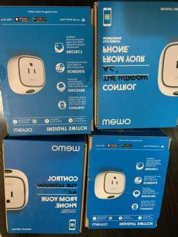 4x Belkin WeMo Insight Switch Wi-Fi Enabled Control  Electro