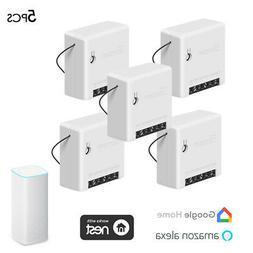 5*SONOFF Mini Two Way Intelligent Switch Smart Home Applianc