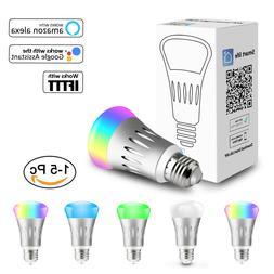 WiFi Smart Light Bulb Dimmable Switch LED E27 Lamp For Googl