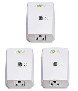 WiOn 50073 Indoor Wi-Fi Outlet, Wireless Switch, Programmabl