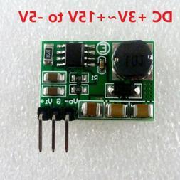 500mA 3-15V to -5V DC-DC Boost-Buck Inverting switch regulat