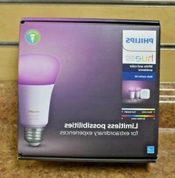 Philips 536474 Hue 2-Pack Smart Light Starter Kit Brand New