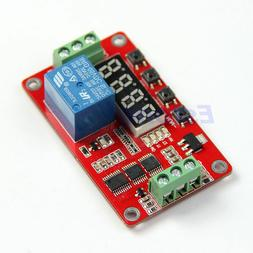 5V / 12V / 24V Relay Cycle Timer PLC Home Automation Delay M