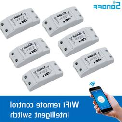 6 x Sonoff Basic Smart Home WiFi Wireless Switch Module For