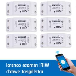 6x Sonoff ITEAD WiFi Wireless Smart Swit