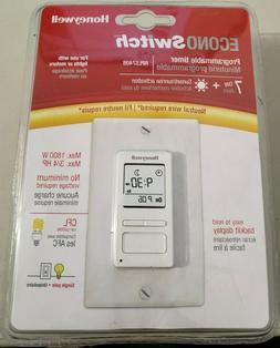 Honeywell 7-Day Solar Programmable Timer for Lights & Smart