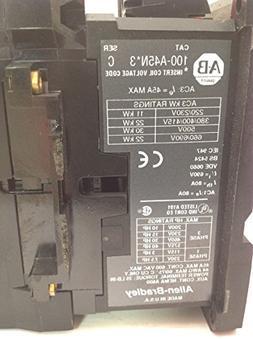 Allen-Bradley 100-A45N-3 Starter Contactor 45A 600V MAX T146