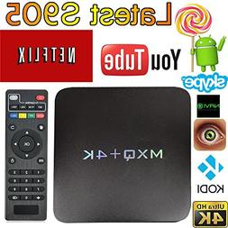 Android 6.0 OS TV Box MXQ PRO Amlogic S905X  Quad Core 4K Su
