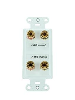 Legrand - On-Q F9005WH 7.1 Home Theater Expansion Kit, White