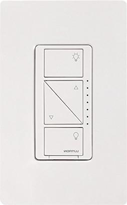 Lutron - Caseta Wireless In-wall Dimmer - White