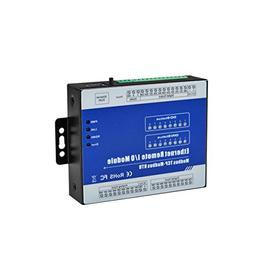 MagiDeal M320T Ethernet 8 CH Remote IO Module,for Home Autom