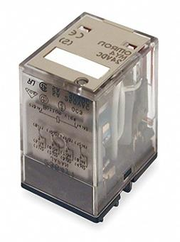 OMRON INDUSTRIAL AUTOMATION MY4 AC24 POWER RELAY, 4PDT, 24VA