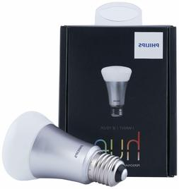 Philips - Hue Add-on A19 Led Light Bulb, 40w Equivalent - Wh