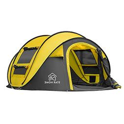 SKYLINK Pop Up Tent for Camping 4 Person Automatic Instant T