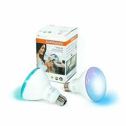 SYLVANIA SMART+ ZigBee Full Color BR30 LED Bulb, 65-Watt Equ