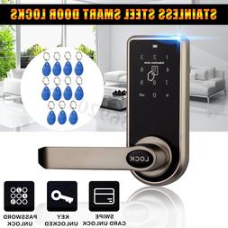 Smart Electronic Code Keyless Keypad Security Entry Door Loc
