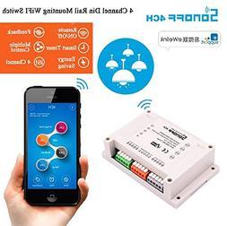 UTP 2017 NEW Remote Control WIFI Switch Smart Home Automatio