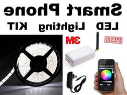 WHITE - - iOS - - SmartPhone WiFi controlled LED Lights work