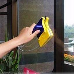 Window Cleaner Double Side Glass Wiper Effective Surface Mag