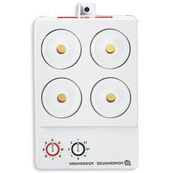 X-10 PowerHorn 110 Decibel Security Siren PH508/PSH01