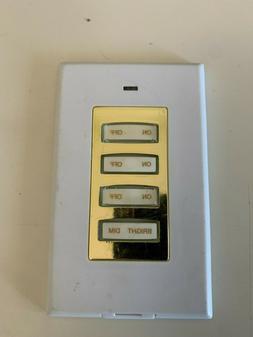 X10 Wireless 4-Button Wall Switch  RSS20/PHW04D-G
