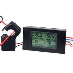 AC 100A Digital Power KWh Watt Meter Volt Energy Multimeter