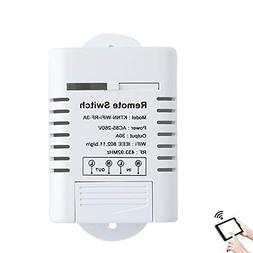 AC 110V,220V 30A WiFi & Remote Smart Swi