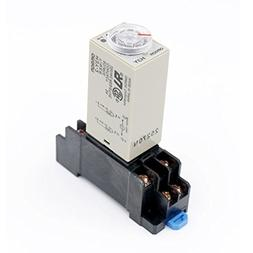 Baomain AC 110V H3Y-2 Time Delay Relay Timer 0-10Min DPDT wi
