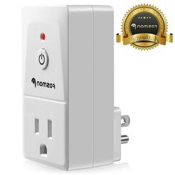 Fosmon Add-On Single Outlet Receiver Wireless Remote Control