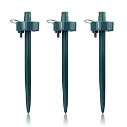 Tookit 3PCS Self Watering Stakes, Adjustable Flow Rate Drip